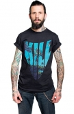 Kill Brand Mens Droopy Hill Top Logo T-shirt