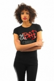 Cocoabella Black I'm Real Bad T-shirt