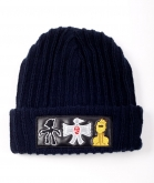 Forreduci Navy Wooly Hat