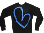 Show Love Black and Blue Sweatshirt