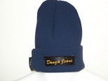 PK Donga Jeans Navy,Black and Gold Wooly Hat