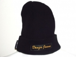 PK Donga Jeans Black and Gold Wooly Hat