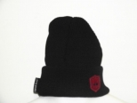PK Black and Red Crest Logo Wooly
