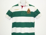 Ralph Lauren Mens Green and white polo