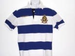 Ralph Lauren Mens Blue and white polo