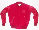 Patrick Kevin Red Varsity Jacket