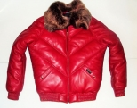Patrick Kevin BBoy Padded Red Jacket
