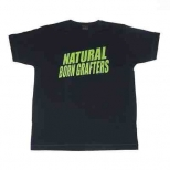 K-Li Navy T-shirt with Green NBG txt
