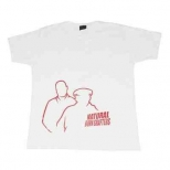 K-Li White Natural Born Grafter T-shirt