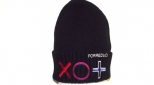 Forreduci Black Naughts and Crosses Wooly Hat