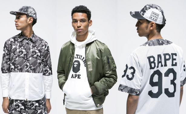 Bape Clothes Urban Clothing Brand Featured Trendstar Uk